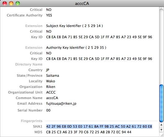 How to Connect (Mac OS X Safari) | ISC, RIKEN
